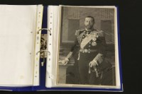 Lot 4A-SIGNED ROYALTY: A collection of 17 mainly autograph letters signed