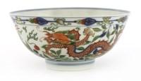 40 - A fine Chinese wucai bowl