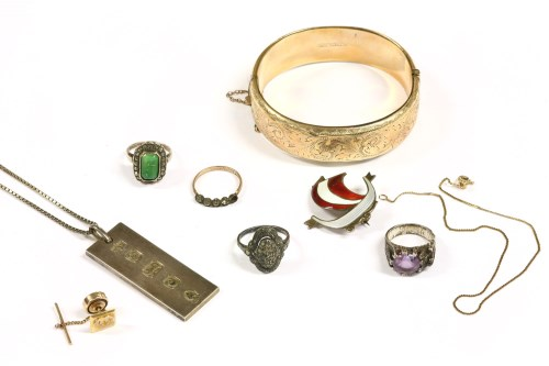Lot 5-A collection of costume jewellery
