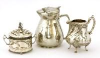 Lot 18 - An Art Nouveau preserve pot and cover