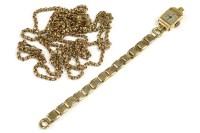 Lot 43-A ladies 18ct gold Benne TT London mechanical watch