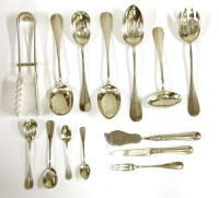 Lot 91 - A collection of Austrian silver cutlery