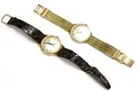 Lot 46-A gentlemen's J W Benson London Incabloc mechanical watch
