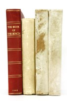 Lot 23-Illustrated Books: 1- The Book of the Bench