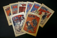 Lot 87 - Eight editions of 'The Gem' comic