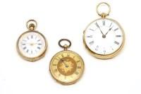 Lot 68-An 18ct gentleman's open face pocket watch