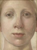Lot 8-*Alison Watt (b.1965) PORTRAIT OF THE ARTIST Signed l.r.