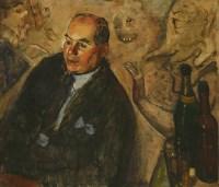 Lot 84 - *Carel Weight RA (1908-1997) PORTRAIT OF J L PAVIA