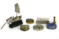 Lot 64-A Victorian silver snuff