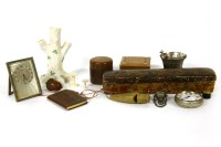 Lot 87 - A Persian papier mache pen box