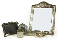 Lot 90A - A large silver photograph frame