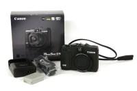 Lot 93 - A Canon PowerShot G16 digital camera