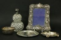 Lot 92 - A silver photograph frame