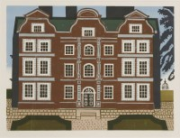 Lot 3-*Edward Bawden RA (1903-1989) 'KEW PALACE' Lithograph printed in colours