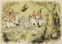 Lot 18-*Ronald Searle (1920-2011)