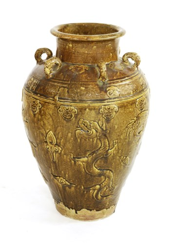Lot 3-A Chinese martaban jar