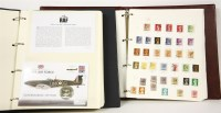 Lot 86 - Two albums of coin covers