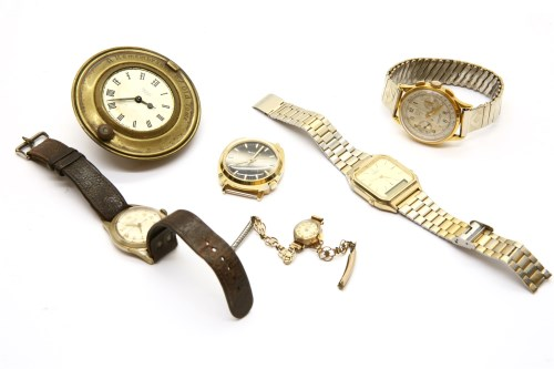 Lot 42-A ladies 9ct gold wristwatch