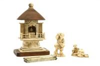 Lot 73A-A Meiji period ivory netsuke