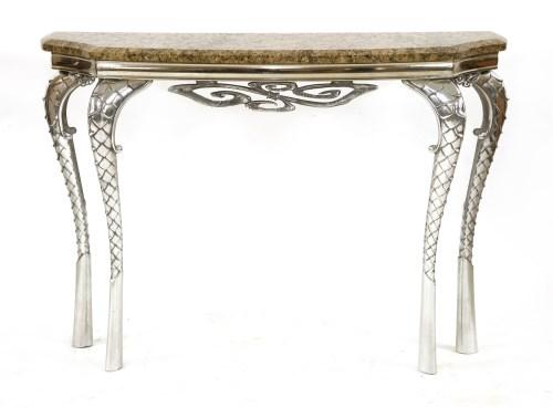 Lot 677 - *Mark Brazier-Jones (b.1956)   an 'Elizabeth' console table