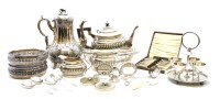 Lot 72A-A large quantity of various electroplated items