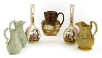 Lot 59-A Doulton Lambeth stoneware jug