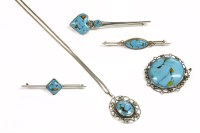 Lot 26-A collection of jewellery attributed to Bernard Instone