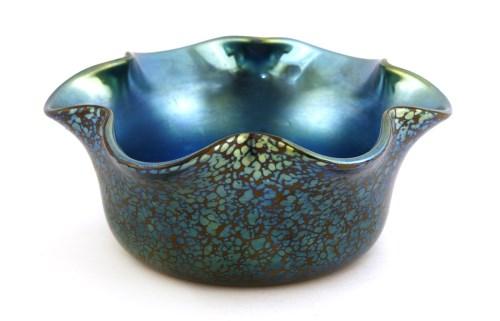 Lot 124 - A Loetz glass bowl
