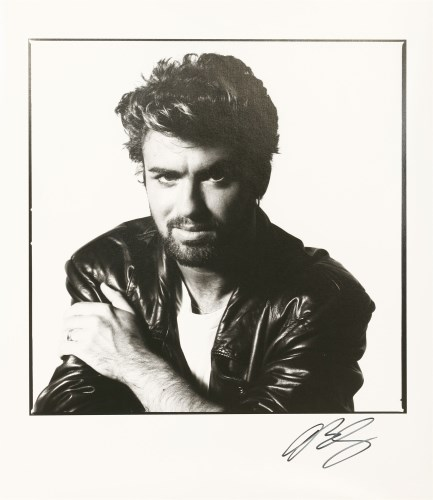 Lot 58-*DAVID BAILEY (b.1938) GEORGE MICHAEL