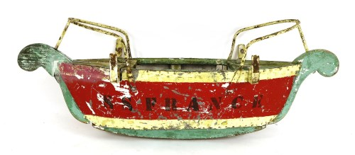 Lot 15-A FRENCH FAIRGROUND SWINGBOAT c.1930s
