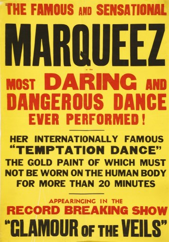 Lot 24-THE MOST DARING DANGEROUS DANCE EVER PERFORMED