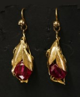 Lot 7-A pair of cased Victorian gold
