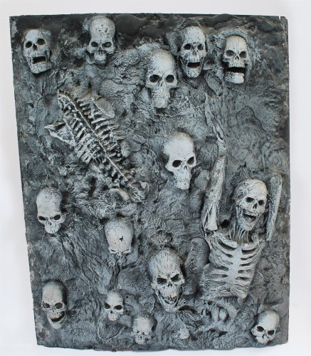 Lot 25-SKULLS AND SKELETONS