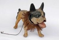 Lot 9-GROWLER DOG