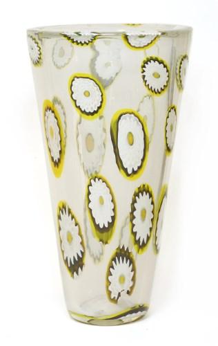 Lot 339 - A Murano glass vase