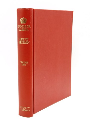 Lot 6-A red Windsor GB album