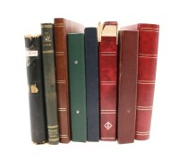 Lot 11-Eight albums and stock books