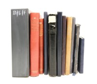 Lot 15-All world in ten albums and stock books