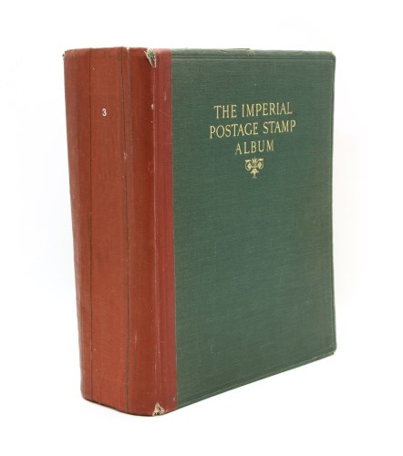 Lot 19-The second edition Imperial stamp album QV to approximately 1920
