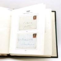 Lot 20-An album of Irish postal history