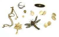 Lot 28-A collection of jewellery