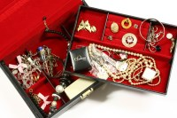 Lot 29-A collection of costume jewellery