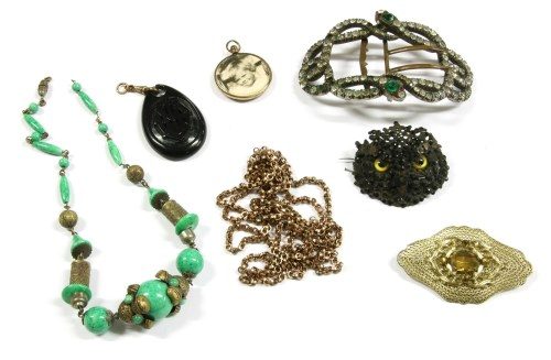 Lot 26-A collection of jewellery and costume jewellery