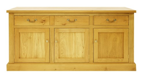 Lot 518-A contemporary oak sideboard