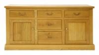 Lot 511-A contemporary oak sideboard