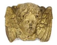 Lot 504-A carved gilt wood bracket