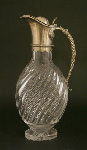 Lot 514-A Victorian claret jug