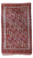 Lot 532-An Eastern rug