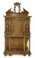 Lot 530-An oak cabinet
