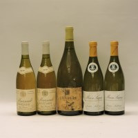 Lot 11-Assorted White Burgundy to include: Chablis